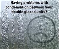 Failed double glazing